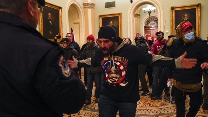 NYC man Claims He Stormed US Capitol Over Stolen Elections