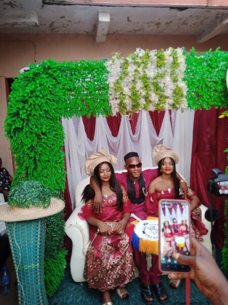 Nigerian man marries twins because they cant live without each other photos