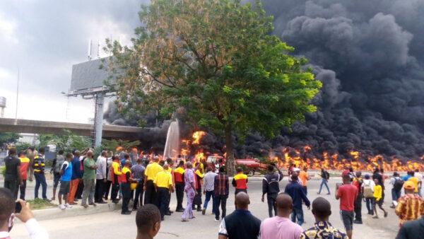 Oil tanker explodes in Lagos photos1