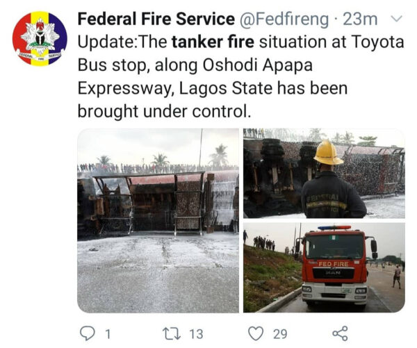 Oil tanker explodes in Lagos photos2