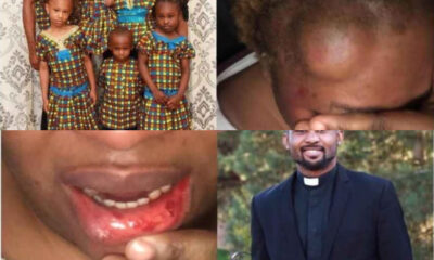 Pastor allegedly assaults and abandons his wife four children abroad