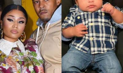 Rapper Nicki Minaj finally reveals son's face (photos)