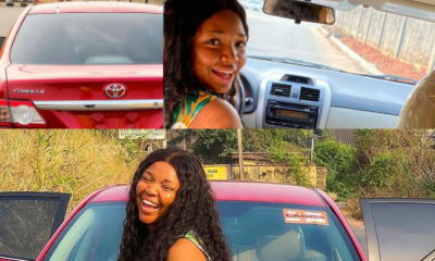 Actress Ekene Umenwa buys herself a New Year gift