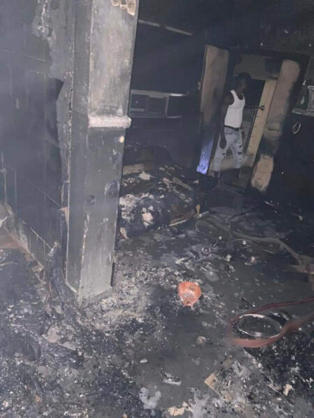 Sunday Igboho house razed in Ibadan photos1