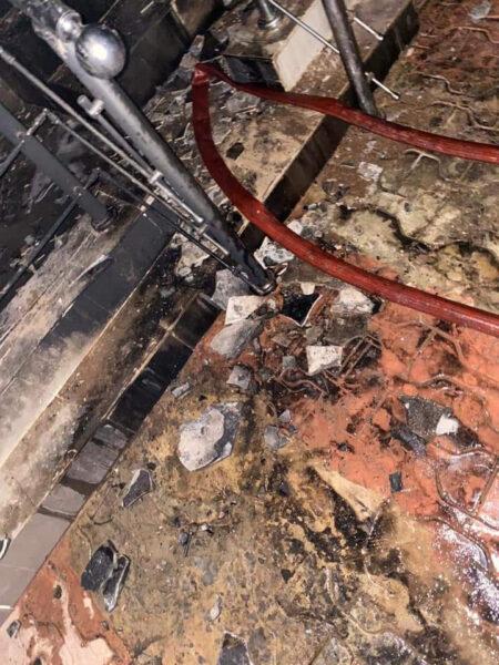 Sunday Igboho house razed in Ibadan photos2