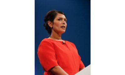 Trumps speech directly caused Capitol Hill siege Priti Patel