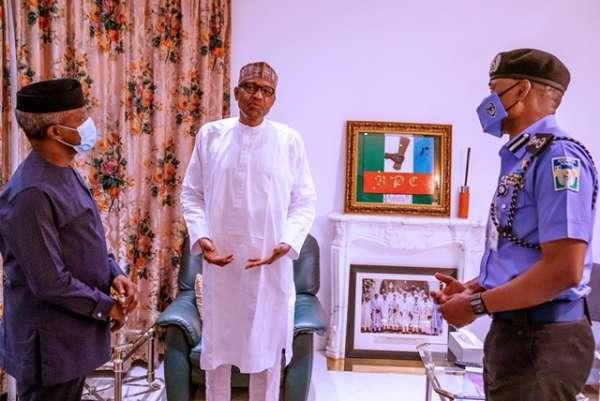 Buhari orders IGP Adamu