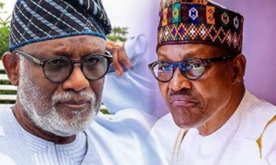 Gov Akeredolu and buhari