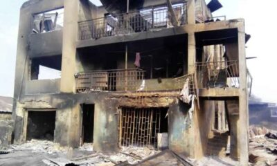 Hoodlums took advantage of cobblers death to burn shops houses in Shasha market – Eyewitness