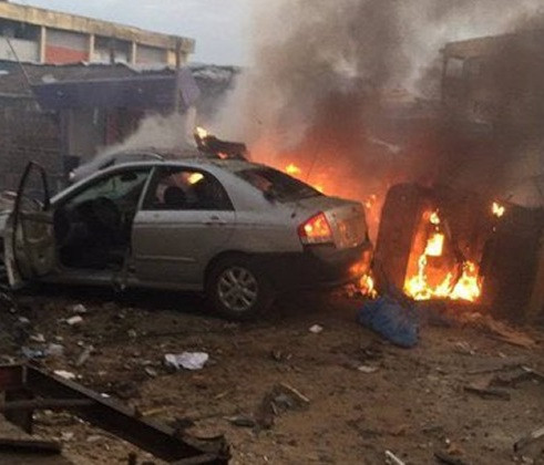 Housewife and baby injured in Kano gas explosion