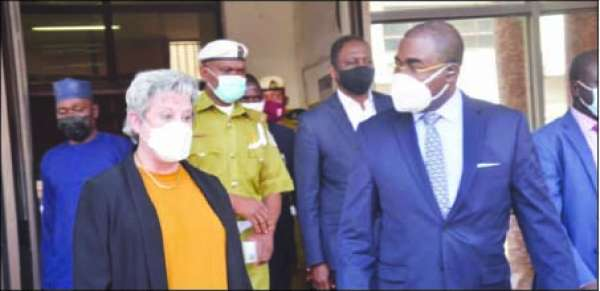 NDLEA signs MoU with U.S to strengthen drug war