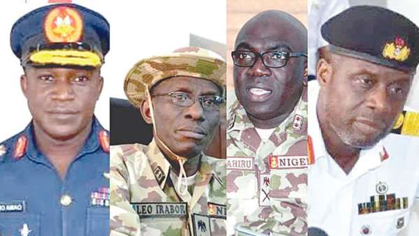 New Service Chiefs Unveil Plans To Tackle Insecurity