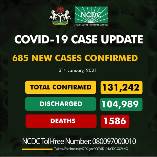 Southern Nigeria accounts for 60 of deaths so far NCDC