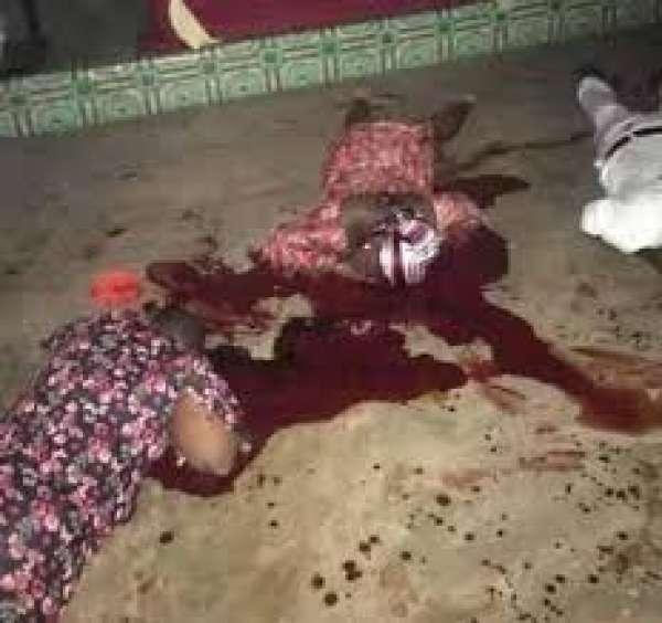 Tragedy as gunmen kill man wife daughter inside church in Anambra