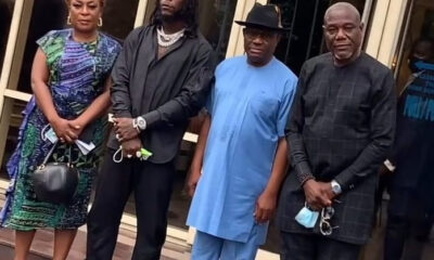 Burna Boy is a pride of Rivers state Governor Wike says