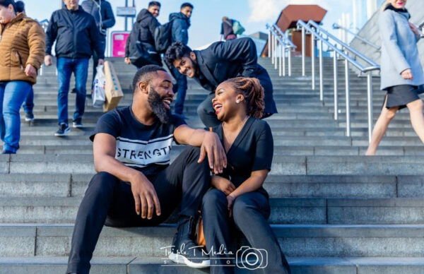 Comedian Arole set to tie the knot with his lover Yemi2