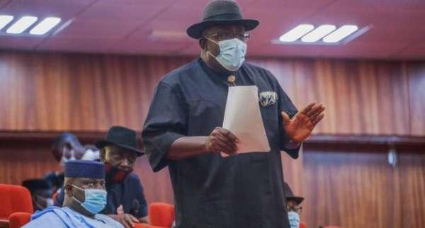 Dickson tackles senator for saying Mubi bigger than Bayelsa