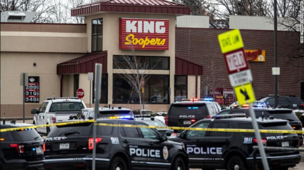 Gunman kills 10 people including police officer at a grocery store in Colorado