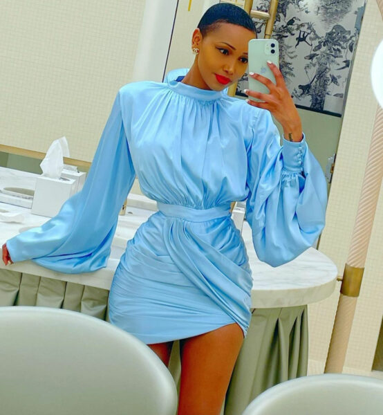 Huddah Monroe says as she makes it clear man arent the only ones with opportunities to cheat