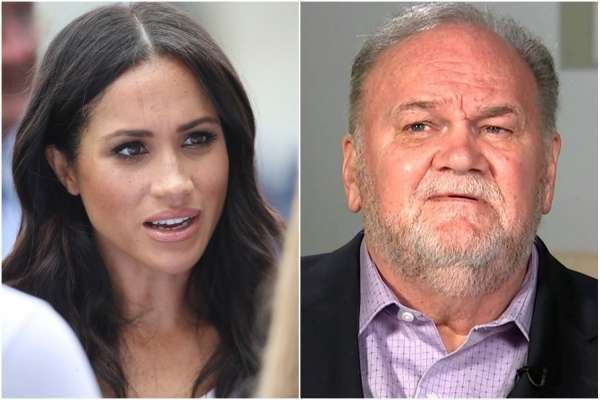 Meghan Markle speaks out over sordid relationship with her father Thomas Markle