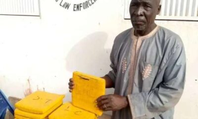 NDLEA Arrests 70 Year Old Drug Supplier
