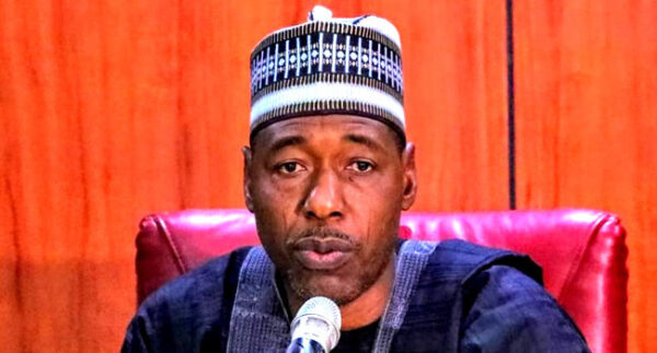 Power should go to south in 2023 Gov Zulum