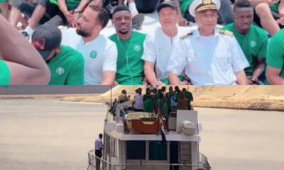Super Eagles to travel to Benin by boat ahead of must win AFCON qualifiers