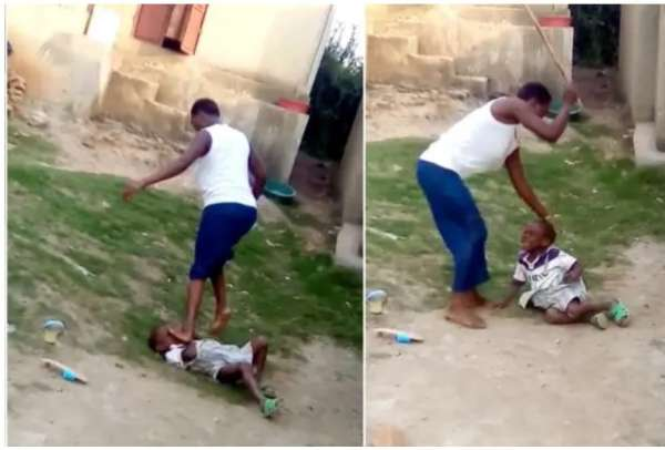 Woman bags 2 years imprisonment after seen brutalizing her 5 year old son and stomping on his head