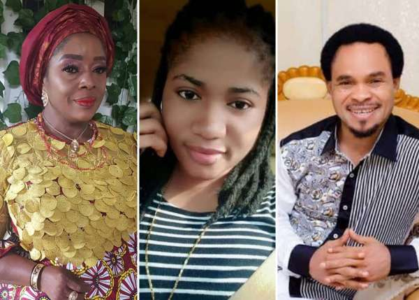Ada Jesus Nigerians call for arrest of Prophet Odumeje Rita Edochie