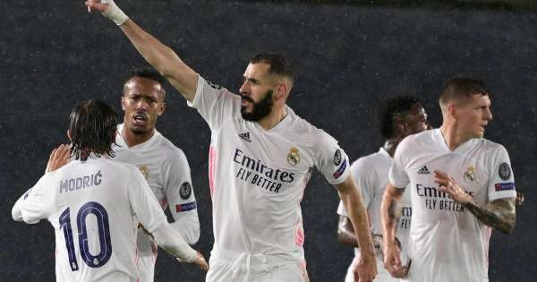Benzemas volley rescues Real Madrid against Chelsea