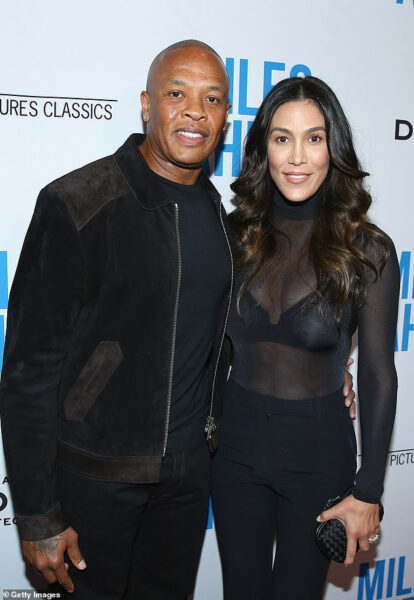 Dr. Dre denies his estranged wife Nicole Youngs claims of abuse says shes trying to get money out of him
