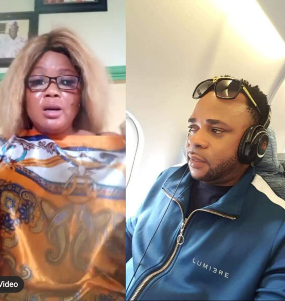 Francis Odigie begs Nigerians to force her alleged baby daddy to take responsibility for their child