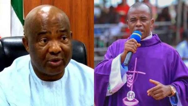 Hope Uzodinma no longer picks my calls – Father Mbaka cries out