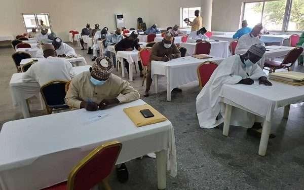 Kaduna APC conducts exams for local government chairmanship aspirants