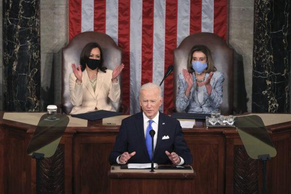 Kamala Harris and Nancy Pelosi make history as the first women to lead Senate