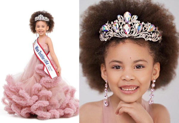 Meet the 5 year old Nigerian girl who won 'Miss Toddler USA 2021 Photos