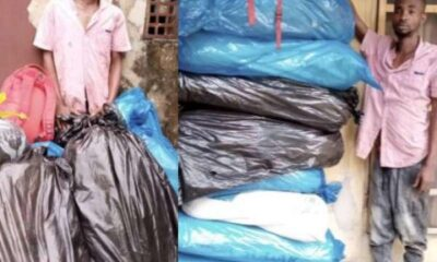 NDLEA arrests Abia major drug lord with over 100kg Cocaine and Cannabis