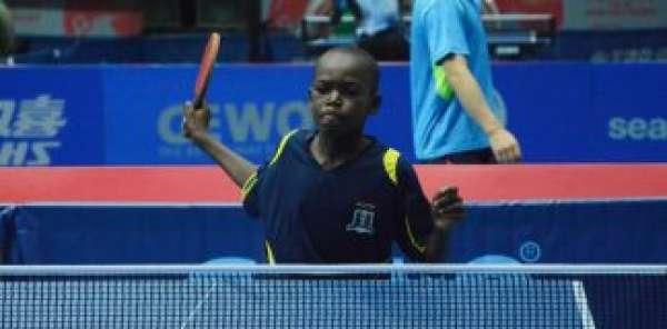 Nigerias Mustapha ranked worlds best U 11 Table Tennis player