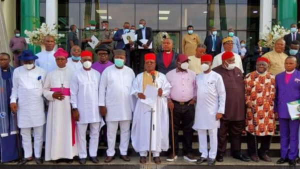 South East Governors direct Ohanaeze to set up committee over 'unfair treatment of Igbos