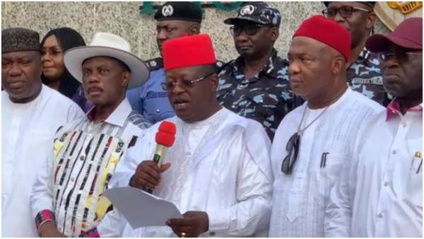 Southeast governors leaders insist on Ebube Agu