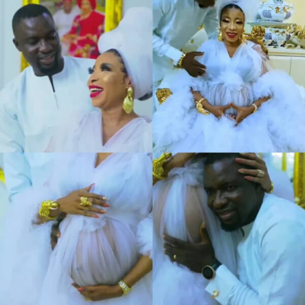 Actress Lizzy Anjorin and husband welcome their first child photos and video