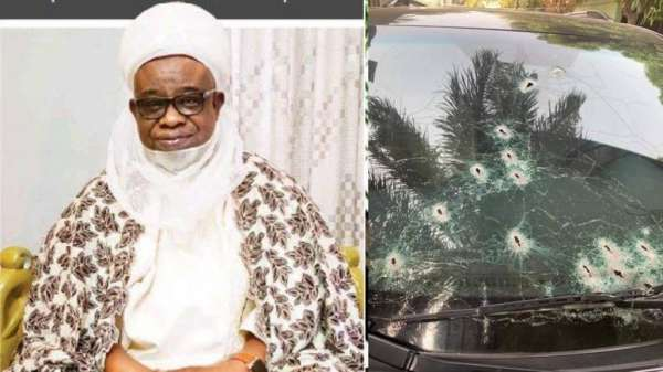Bandits kill Emir of Birnin Gwaris driver burn vehicle