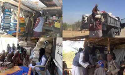 Boko Haram distribute Ramadan packages and cash to residents of Borno and Yobe state photos