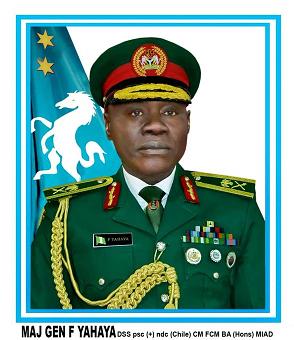 Chief of Army Staff Maj. Gen. Farouk Yahaya