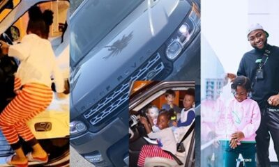Davido buys his daughter Image a Range Rover for her birthday