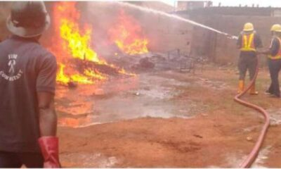 Infant Two Others burnt to death as gas explodes in Abeokuta