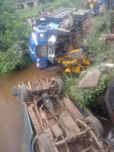 Truck Crashes Into Stream In Imo Kills Two