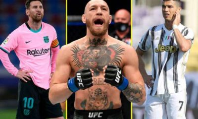 UFC star Conor McGregor beats Lionel Messi and Cristiano Ronaldo to be named worlds richest athlete