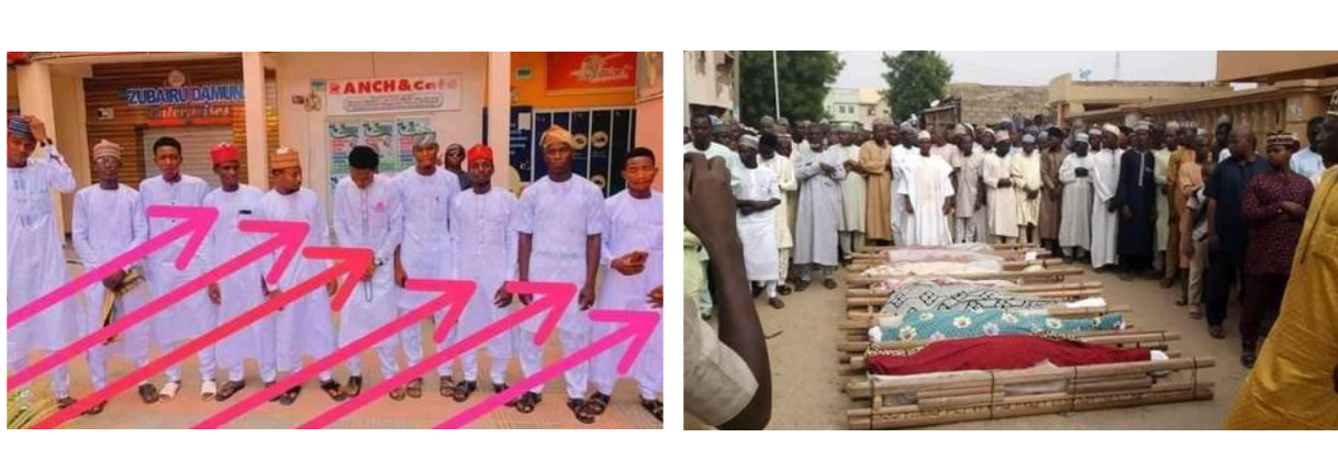 17 Kano young men die in fatal motor accident while returning from friends wedding in Kaduna photos