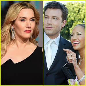 Actress Kate Winslet gives startling reaction when asked about Jennifer Lopez and Ben Afflecks rekindled relationship